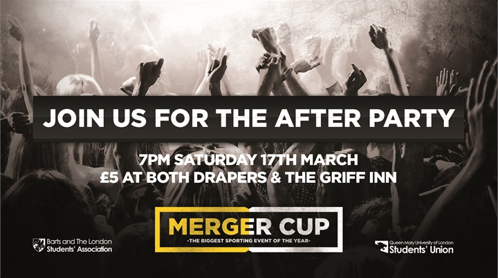 Merger Cup After Party - GRIFF INN