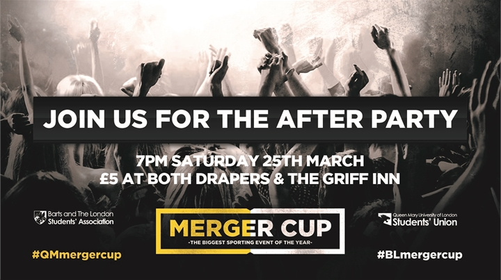 Merger Cup After Party  - DRAPERS