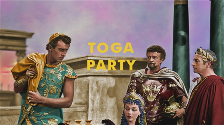 Thank Griff It's Friday - Toga Party