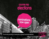 Course Rep Elections - Nominations Open
